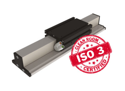 linear motor stage for cleanroom
