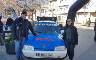 Sinadrives sponsors the rally team of university of girona. At sinadrives we manufacture direct driven linear motor stages.