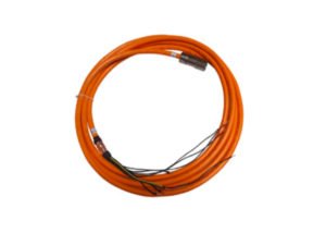 Power cable for sinadrives linear motor stages, axis or unit. At Sinadrives we manufacture direct driven linear motor axes.