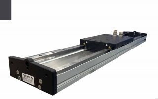 Linear motor stage with direct drive